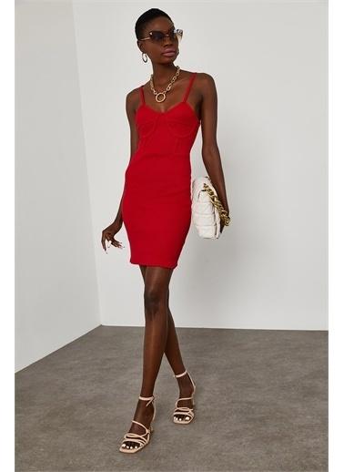 XHAN Elbise Kırmızı
